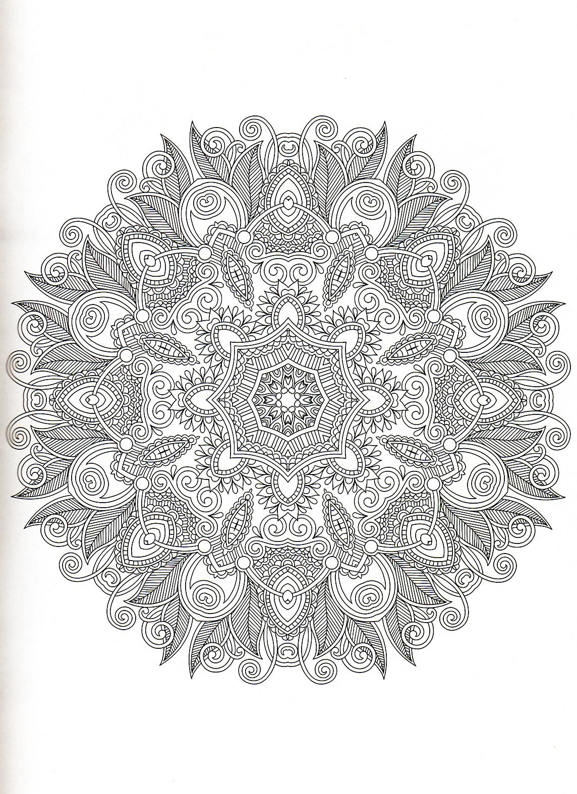 Le mandala et la chromoth rapie on fait tout - Mandala beau et difficile ...